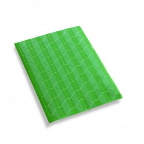Самоклеющиеся уголки для фото Зеленые, 102 шт