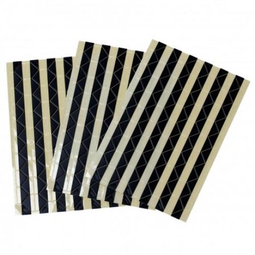 Самоклеющиеся уголки для фото Черные фото