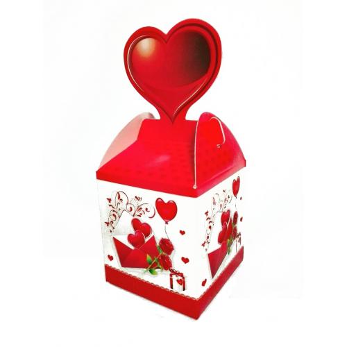 Подарочная коробка №3 9х10х9 см фото