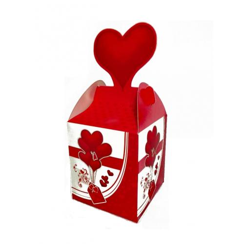 Подарочная коробка №2 9х10х9 см фото