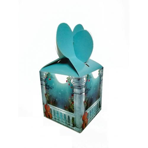 Подарочная коробка №5 9х10х9 см фото