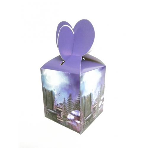 Подарочная коробка №10 9х10х9 см фото
