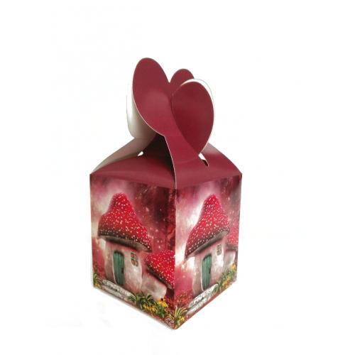 Подарочная коробка №8 9х10х9 см фото