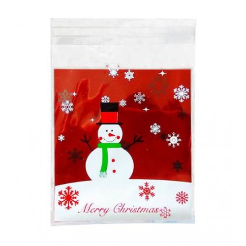 "Пакет для подарка ""Merry Christmas "" 10*10 см фото"