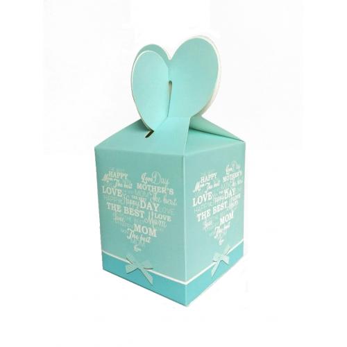 Подарочная коробка №11 9х10х9 см фото