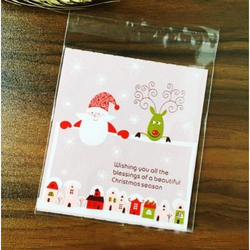"""Пакет для подарка """"Merry Christmas 4"""" 10*10 см"""