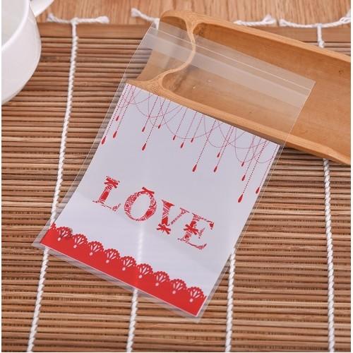 "Пакет для подарка ""Love"" 10*10 см"