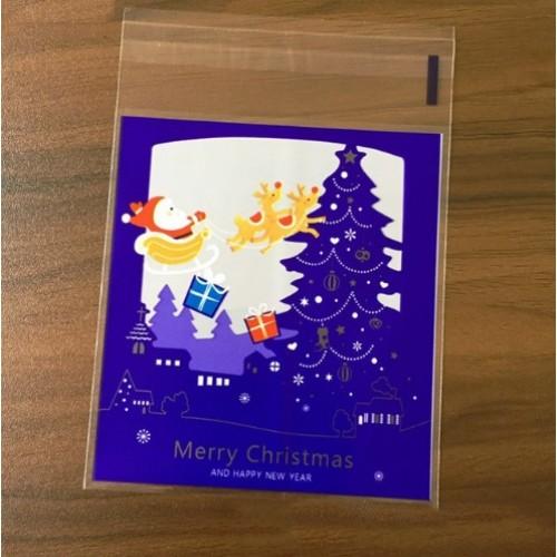"""Пакет для подарка """"Merry Christmas 3"""" 10*10 см"""