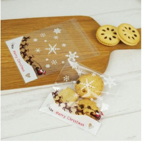 """Пакет для подарка """"Merry Christmas 5"""" 10*10 см"""