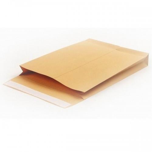 Крафт конверт с расширением C4 (0+0), 120г/м2
