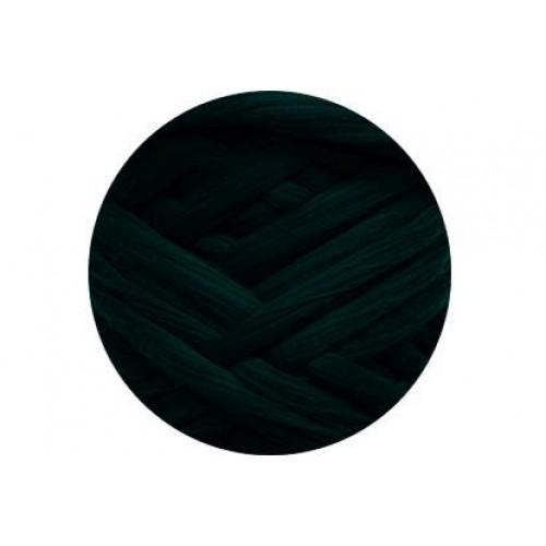 Шерсть для валяния 367 темно-зеленый, 50г