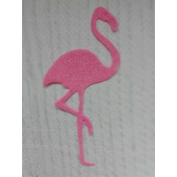 Вырубка из фетра Фламинго