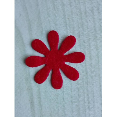 Вырубка из фетра Цветок №4 фото