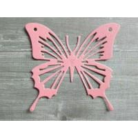 Вырубка из картона Бабочка, 6х5 см