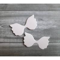 Набор вырубки из акварельной бумаги Крылья, 5 шт