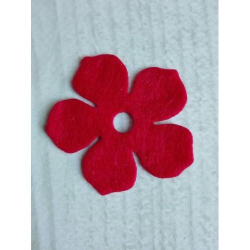 Вырубка из фетра Цветок №2 фото