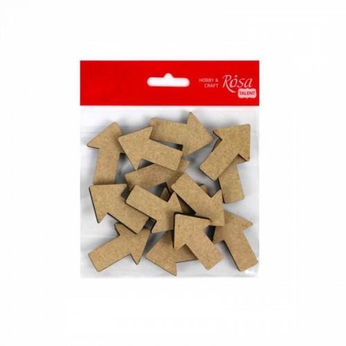 Деревянный декор Стрелки 2 МДФ 4,7х3,3см
