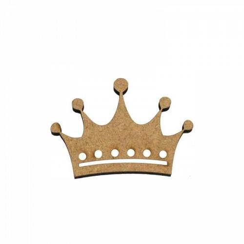 Деревянный декор Корона МДФ 4,7х3,2 см