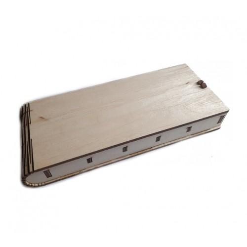 Шкатулка-органайзер. 21х8,5см
