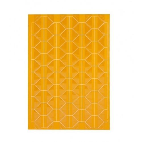Самоклеющиеся уголки для фото Желтые, 102 шт